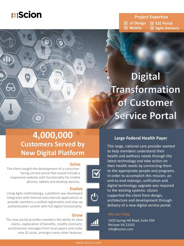 Digital Transformation Healthcare Case Study