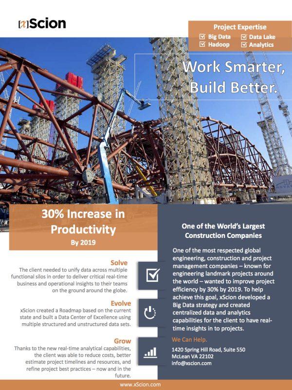 Construction Big Data Case Study