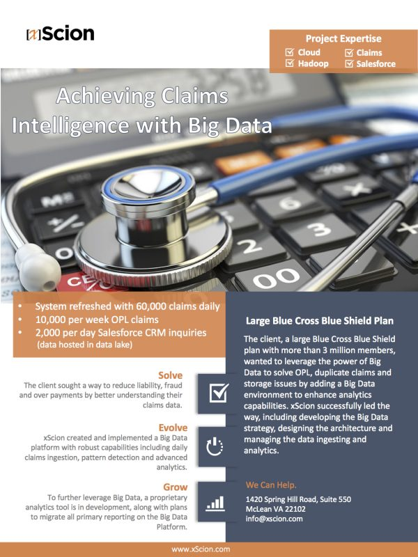 Healthcare Big Data Case Study